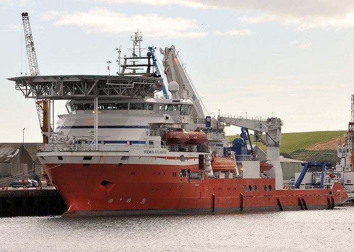 Iremis Atlantis pictured at Montrose on 17th September 2012