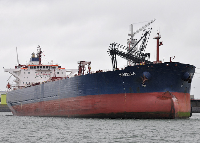 Isabella pictured in 8e Petroleumhaven, Europoort on 24th June 2012