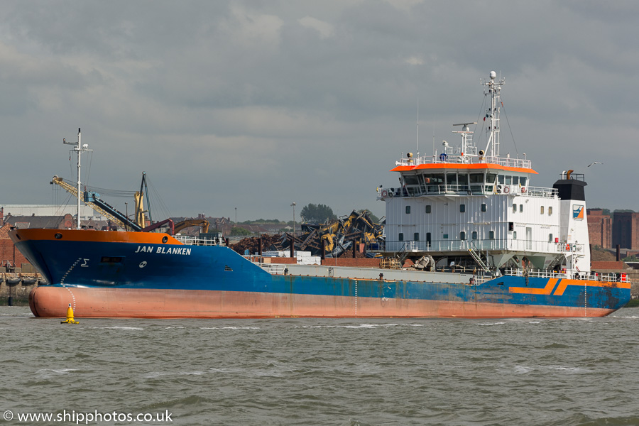 Jan Blanken pictured at the Liverpool2 Terminal development, Liverpool on 20th June 2015