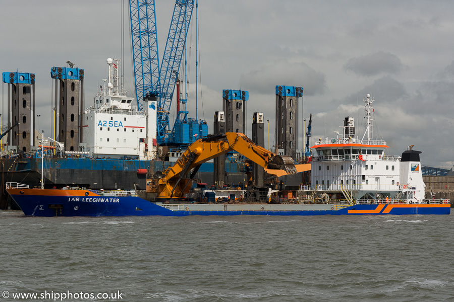Jan Leeghwater pictured at the Liverpool2 Terminal development, Liverpool on 20th June 2015
