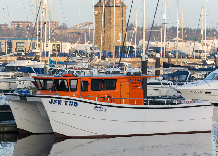 JFK Two pictured at Royal Quays, North Shields on 29th December 2014
