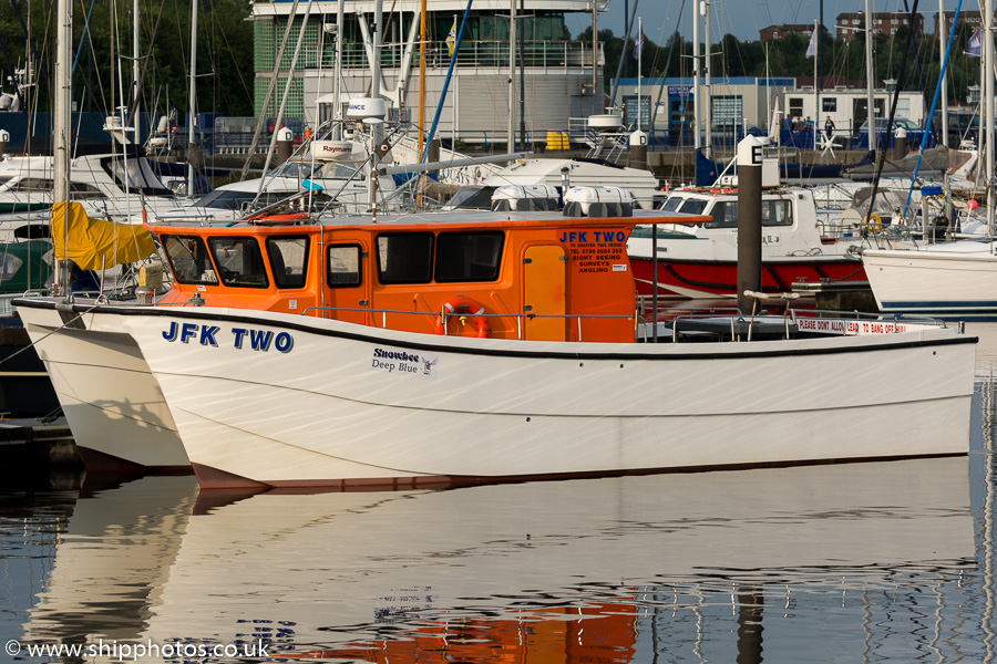JFK Two pictured at Royal Quays, North Shields on 21st August 2015