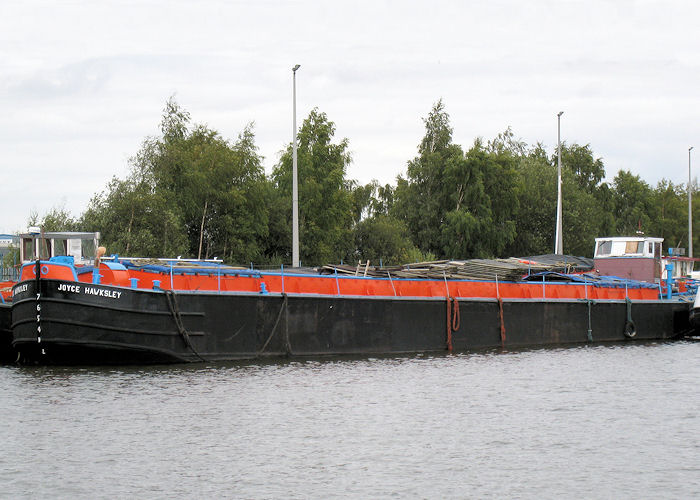 Joyce Hawksley pictured at Goole on 6th September 2009