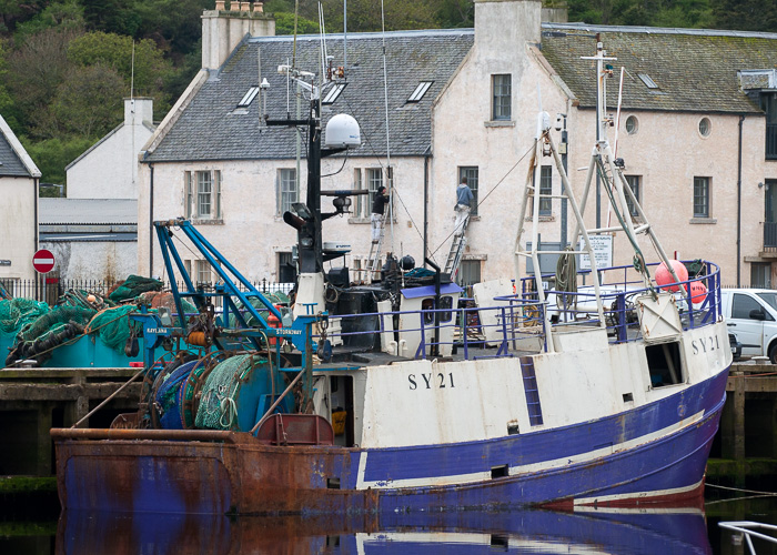 Kaylana pictured at Stornoway on 7th May 2014