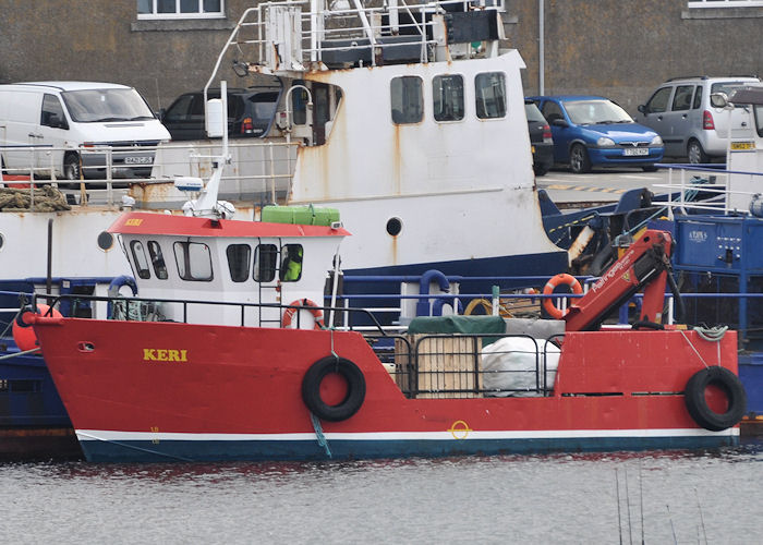 Keri pictured at Kirkwall on 8th May 2013