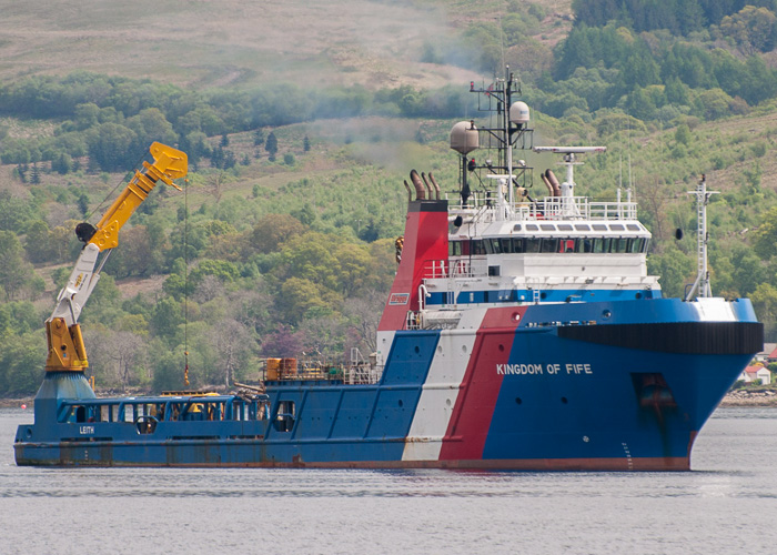 Kingdom of Fife pictured at Inveraray on 11th May 2014