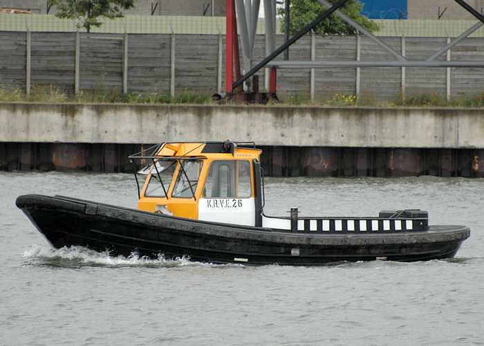 KRVE 26 pictured in Waalhaven, Rotterdam on 20th June 2010