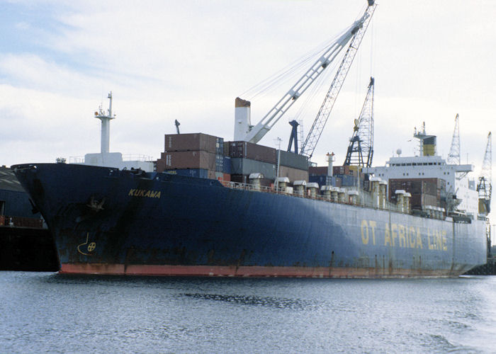 Kukawa pictured at Teesport on 4th October 1997