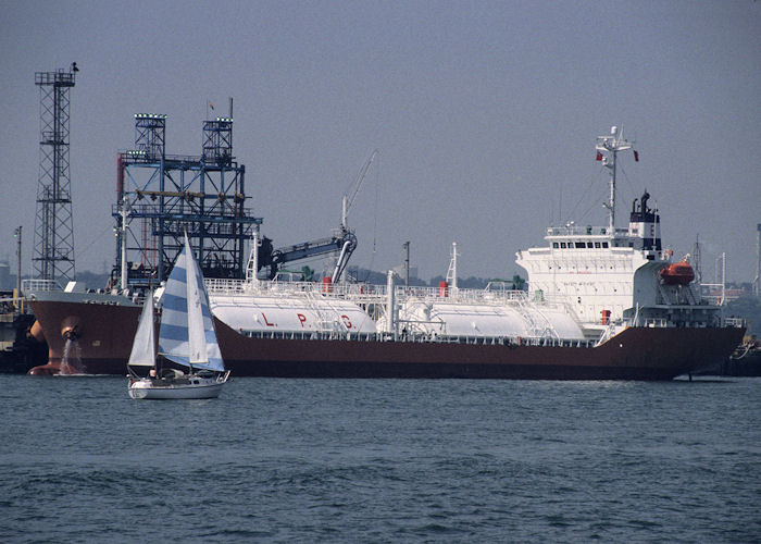Lady Erika pictured at Fawley on 21st July 1996