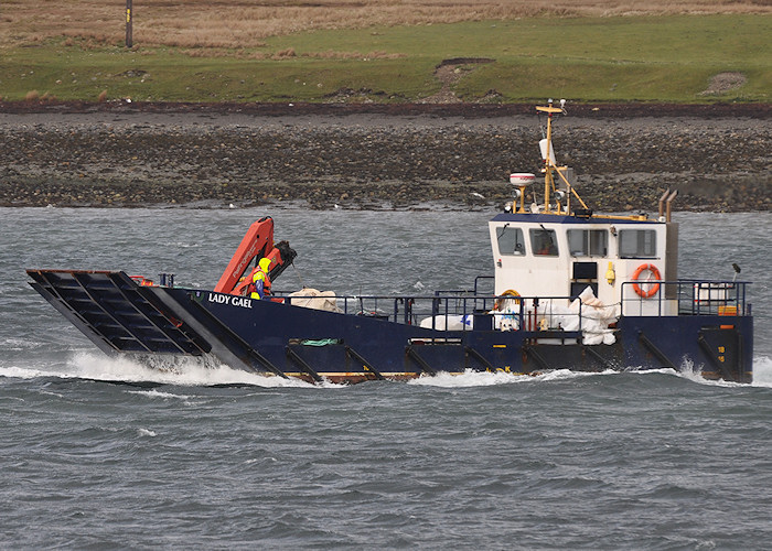Lady Gael pictured arriving at Sconser on 8th April 2012