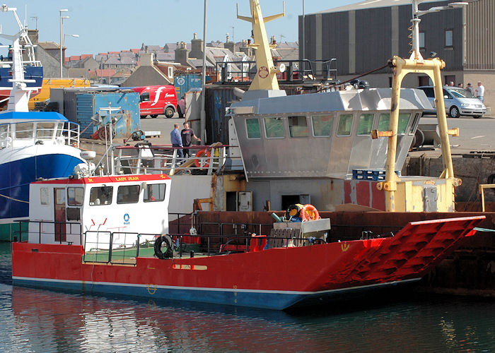 Lady Jean pictured at Macduff on 28th April 2011