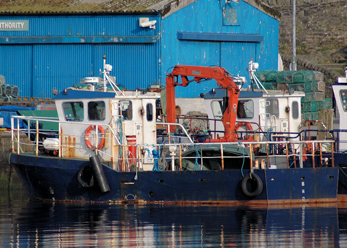 Lady Katie pictured at Tarbert, Loch Fyne on 22nd April 2011