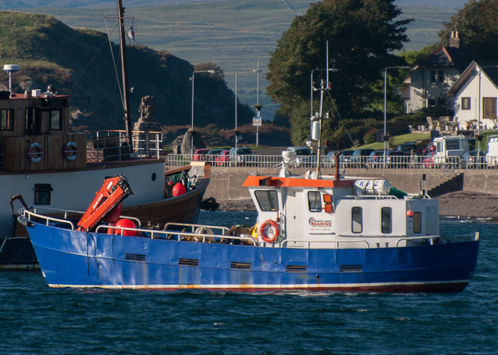 Laxi II pictured at Oban on 20th September 2014