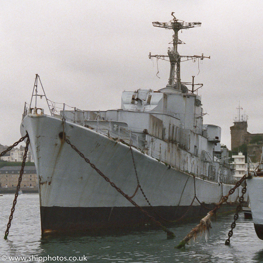 Le Boulonnais pictured at Brest on 25th August 1989