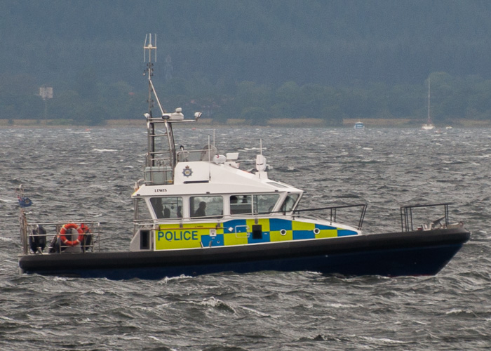 Lewis pictured on the River Clyde on 11th August 2014