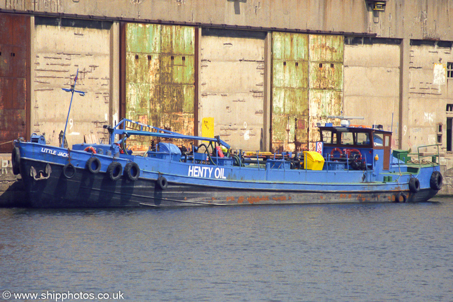 Little Jack pictured in Liverpool Docks on 14th June 2003