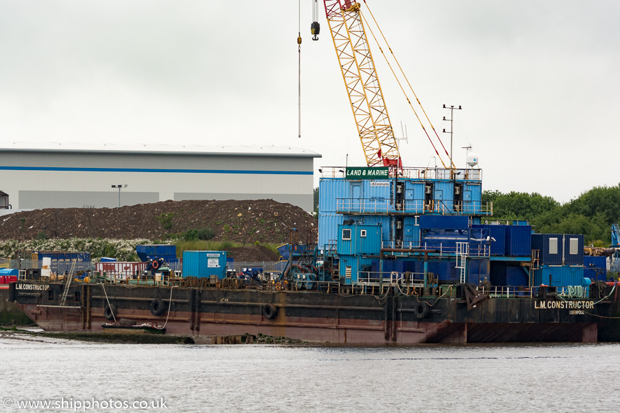 LM Constructor pictured at Bromborough on 20th June 2015
