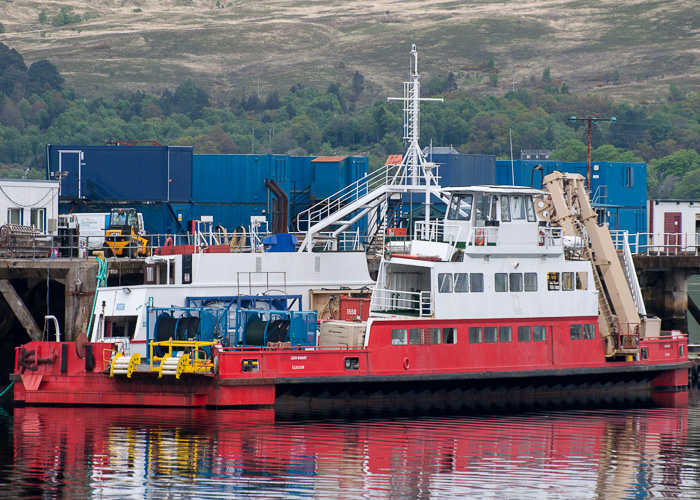 Loch Sunart pictured at Fort William on 11th May 2014