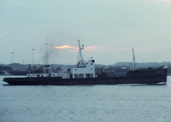 Mancunium pictured in Southampton on 26th October 1988
