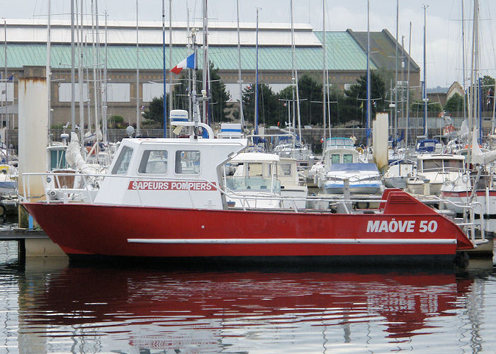 Maöve 50 pictured at Cherbourg on 21st June 2008