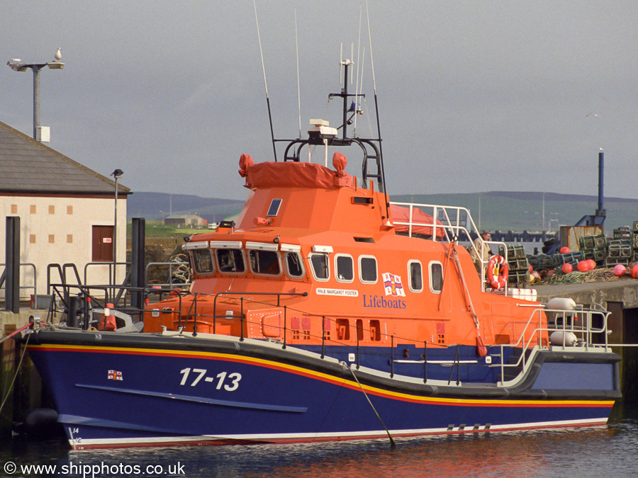 Margaret Foster pictured at Kirkwall on 8th May 2013
