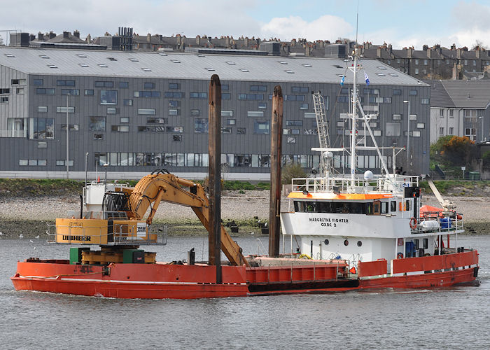 Margrethe Fighter pictured at Aberdeen on 14th May 2013