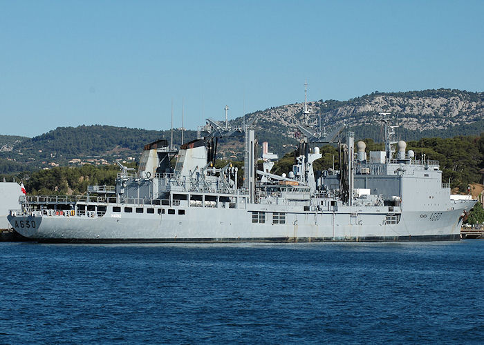 Marne pictured at Toulon on 9th August 2008