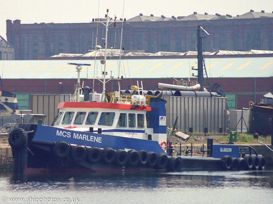 MCS Marlene pictured in Liverpool Docks on 14th June 2003