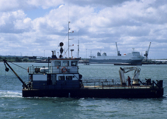 MCS Nikky pictured at Southampton on 13th July 1997