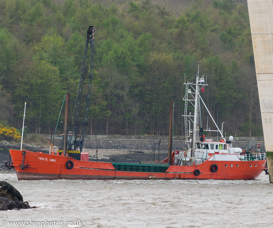 Merete Chris pictured at South Queensferry on 15th April 2017