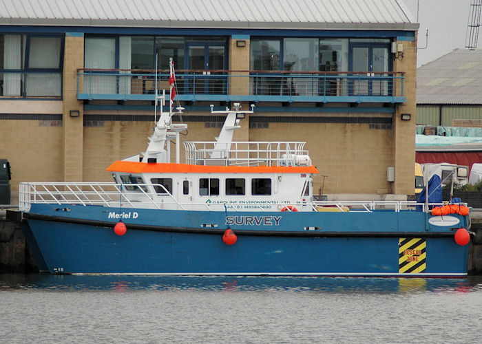 Meriel D pictured at Grimsby on 5th September 2009