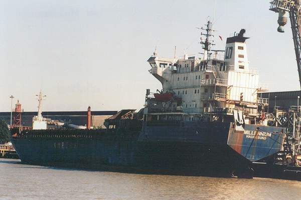 Millennium pictured at Northfleet on 12th May 2001