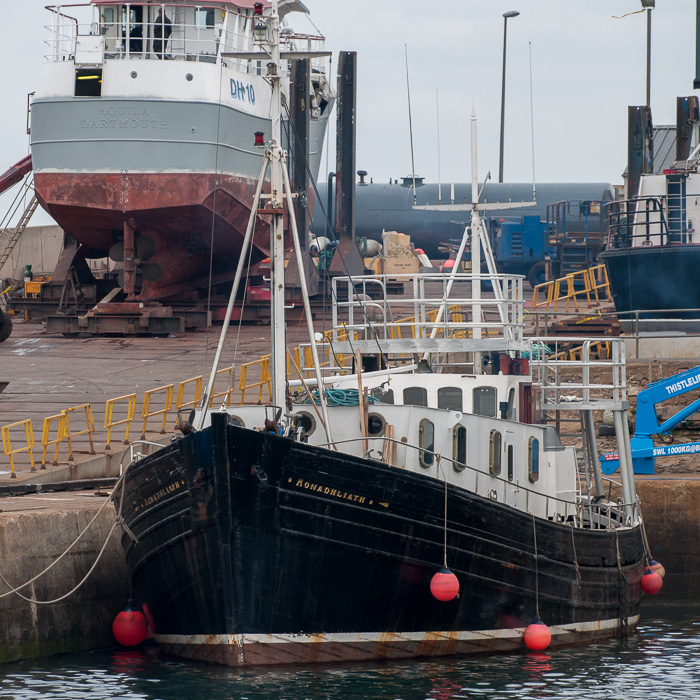 Monadhliath pictured at Macduff on 5th May 2014