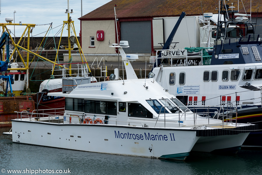 Montrose Marine II pictured at montrose on 24th May 2015