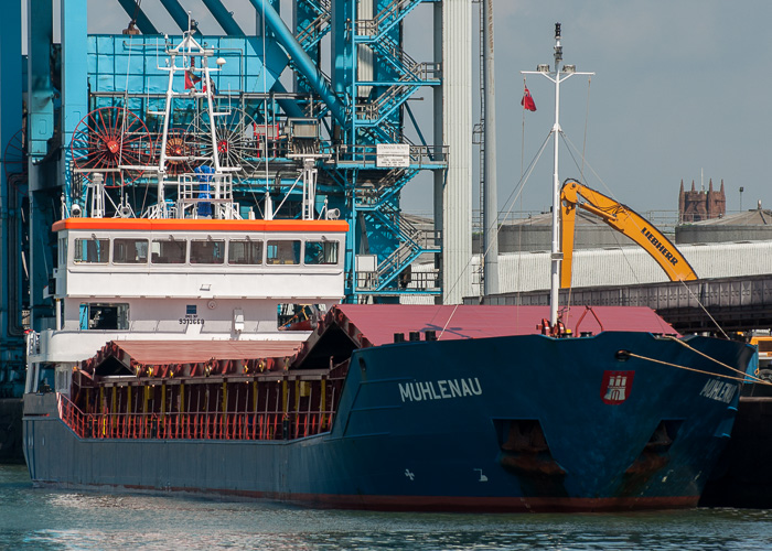 Muhlenau pictured at Liverpool on 31st May 2014