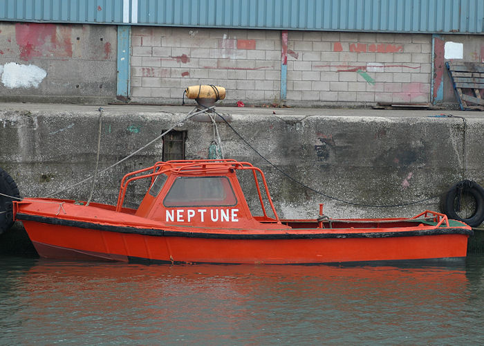 Neptune pictured in Liverpool Docks on 27th June 2009