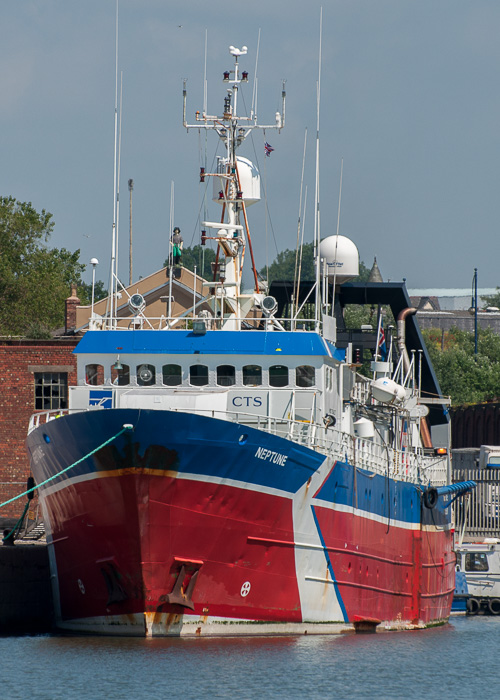 Neptune pictured at Liverpool on 31st May 2014