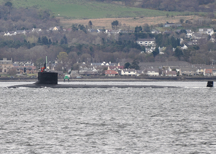 New Hampshire pictured on the Firth of Clyde on 6th April 2012