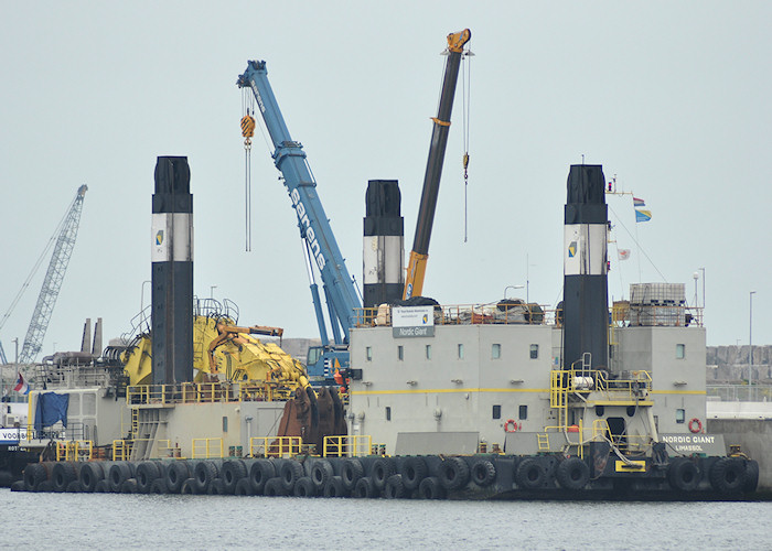 Nordic Giant pictured in Yangtzehaven, Europoort on 26th June 2011