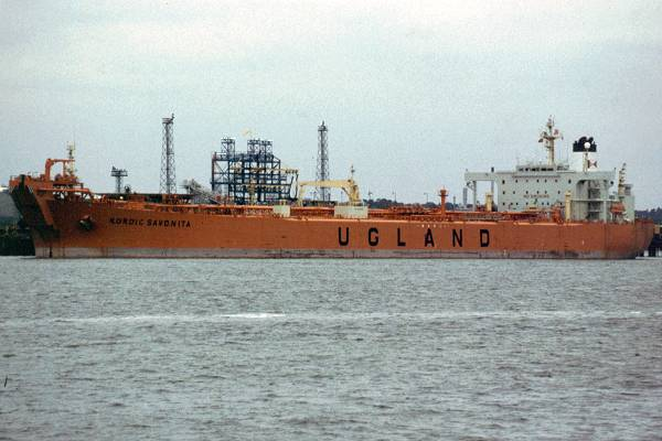Nordic Savonita pictured at Fawley on 4th July 1998