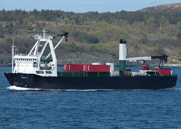 Nordvik pictured near Stavanger on 12th May 2005