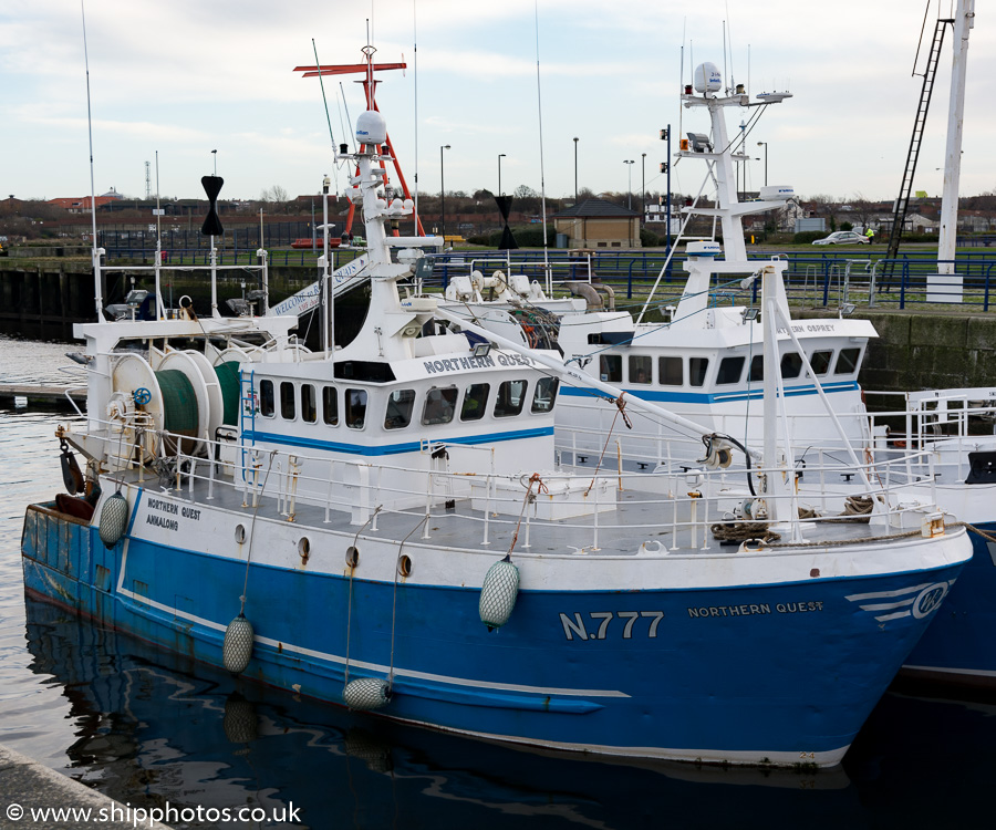 Northern Quest pictured at Royal Quays, North Shields on 31st December 2015