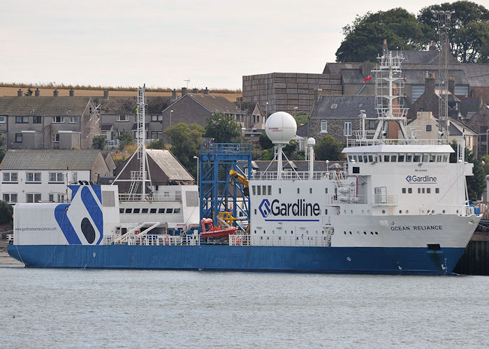 Ocean Reliance pictured at Montrose on 12th September 2013