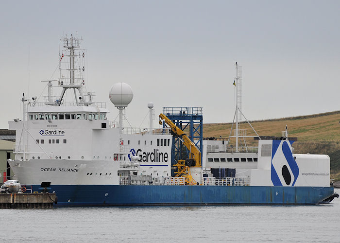 Ocean Reliance pictured at Montrose on 16th September 2013