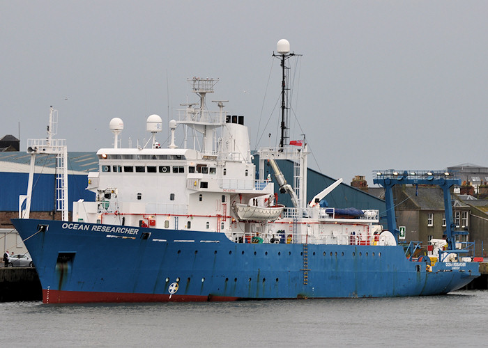 Ocean Researcher pictured at Montrose on 13th September 2012