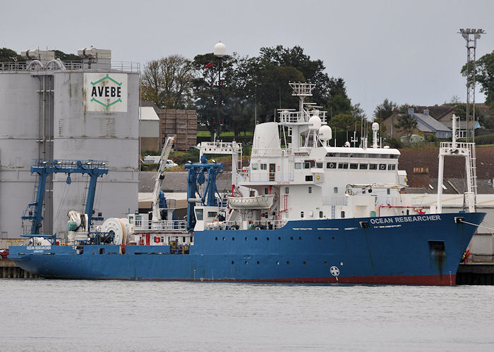 Ocean Researcher pictured at Montrose on 16th September 2013