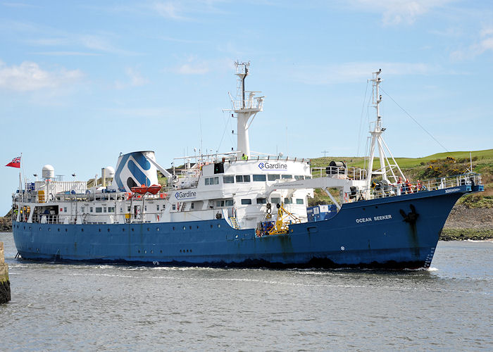 Ocean Seeker pictured arriving at Aberdeen on 13th May 2013