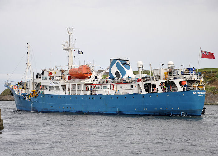 Ocean Seeker pictured departing Aberdeen on 15th May 2013