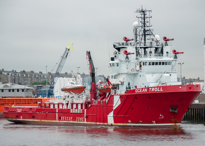 Ocean Troll pictured at Aberdeen on 14th June 2014