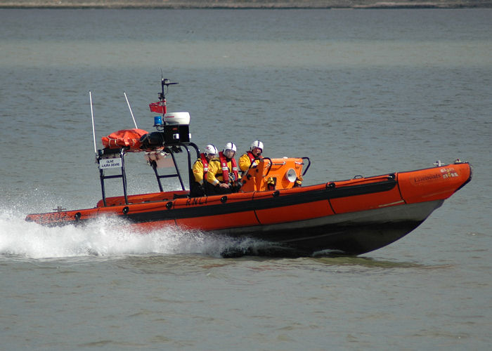 Olive Laura Deare pictured on the River Thames on 10th August 2006